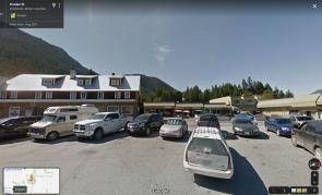 Pemberton Hotel 2019 by Google Earth