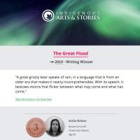 The Great Flood: Attila Nelson's award-winning story