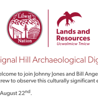 Signal Hill Archaeological Dig, August 22