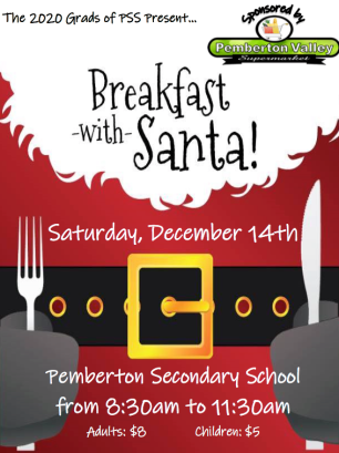 PSS Grads 2020 Breakfast with Santa