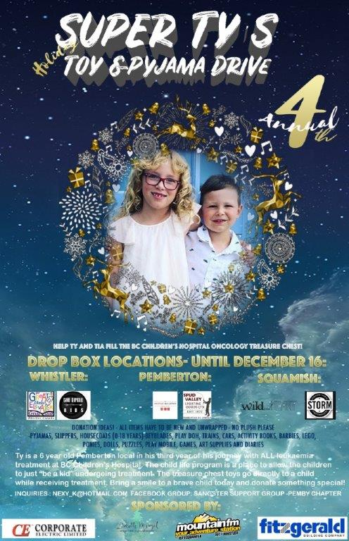 Super Ty's Toy Drive 2019