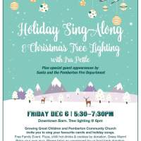 Holiday Sing-along and Xmas Tree Lighting