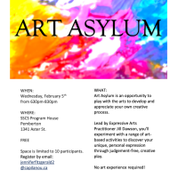 What might free rein at a room full of art supplies unleash in you? Find out February 5 at Art Asylum. RSVP!