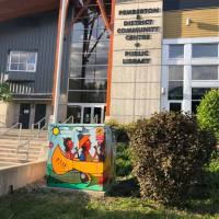 Art springing up - keep an eye out for local artists' murals