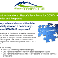 Local dreamers, the Mayor's Task Force for Covid19 relief and recovery needs you for 6 meetings. Apply by June 4