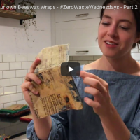 How to make your own beeswax wraps