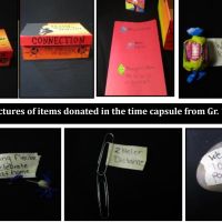 Reflections on a pandemic become Museum artefacts: Ms Cameron's grade 1/2 class donate time capsule