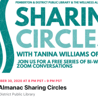 Sharing Circle centres Dr Lorna Williams, next Monday 30 November