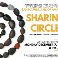 Next Sharing Circle is Monday, December 7
