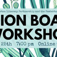 Zoom into a free vision board workshop via the Library, Monday 25 January, 7 - 9:30pm
