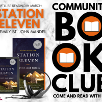 Community Book Club gets into pandemic-lit, reads Station Eleven for March