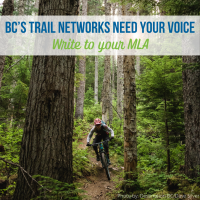 Tell our MLA that trails and recreation sites NEED MORE FUNDS