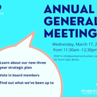 You are invited to zoom in to the Pemberton + District Chamber of Commerce AGM, March 17 11:30am