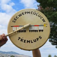 Drum to honour the children. JoinTk'emlúps te Secwépemcon September 30 at 2:15 pm Pacific to drum and sing for the missing children of Indian Residential Schools