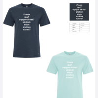 Order your shirts by November 7, young men!