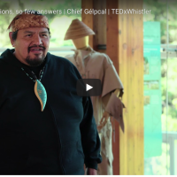 """""""Generational trauma does exist. So does generational strength."""" Kukwpi7 Gelpcal's TED talk is now live!"""